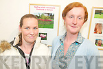 EXHIBITION: At the St John of God Kerry Services exhibition at Siamsa Tire on Tuesday evening were, l-r: Teresa O'Brien and Paula O'Connor..   Copyright Kerry's Eye 2008
