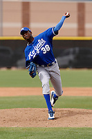 Carlos Sencion - Kansas City Royals - 2009 spring training.Photo by:  Bill Mitchell/Four Seam Images