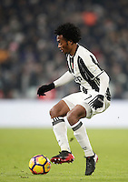 Calcio, Serie A: Juventus vs Roma. Torino, Juventus Stadium,17 dicembre 2016. <br /> Juventus' Juan Cuadrado in action during the Italian Serie A football match between Juventus and Roma at Turin's Juventus Stadium, 17 December 2016.<br /> UPDATE IMAGES PRESS/Isabella Bonotto
