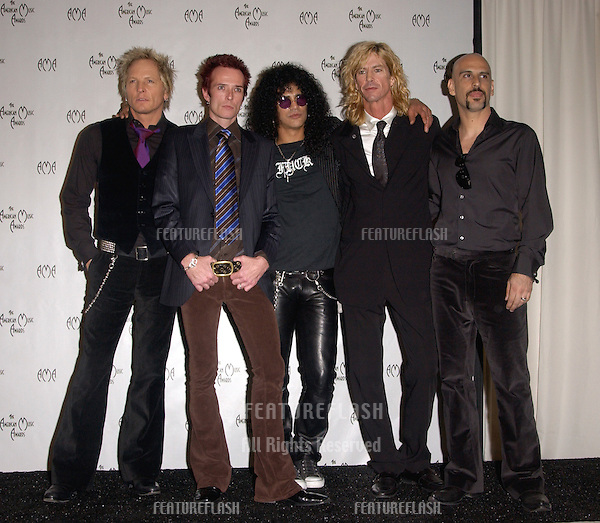Nov 14, 2004; Los Angeles, CA: Rock group VELVET REVOLVER at the 32nd Annual American Music Awards at the Shrine Auditorium, Los Angeles, CA..
