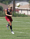 28 September 2006: Abby Wambach. The United States Women's National Team trained at the Home Depot Center in Carson, California.