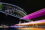 Vivid Sydney 2015. Sydney, Australia. Tuesday, 26th May 2015 (Photo: Steve Christo)