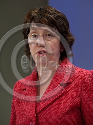 Brussels-Belgium - March 01, 2010 -- Catherine ASHTON, EU High Representative for Foreign Affairs and Security Policy and Vice-President of the European Commission, from the UK, during a press conference in the HQ of the EC -- Photo: Horst Wagner / eup-images