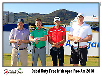 Joakim Lagergren (SWE) team on the 10th tee during Wednesday's Pro-Am of the 2018 Dubai Duty Free Irish Open, held at Ballyliffin Golf Club, Ireland. 4th July 2018.<br /> Picture: Eoin Clarke | Golffile<br /> <br /> <br /> All photos usage must carry mandatory copyright credit (&copy; Golffile | Eoin Clarke)