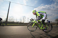 3 Days of De Panne.stage 1: Middelkerke - Zottegem..Mauro Da Dalto (ITA)