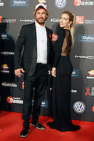 Singer Macaco and actress Kira Miro during Barcelona 5th AIDS Ceremony. November 24,2014.(ALTERPHOTOS/Acero) /NortePhoto<br />