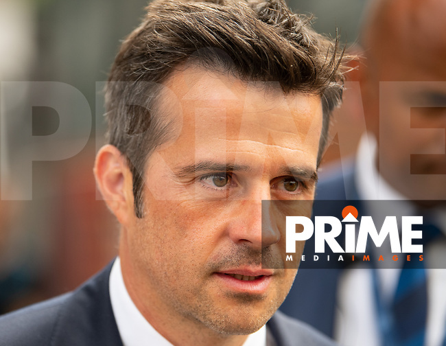 Everton manager Sam Marco Silva during the Premier League match between Crystal Palace and Everton at Selhurst Park, London, England on 10 August 2019. Photo by Andrew Aleksiejczuk / PRiME Media Images.