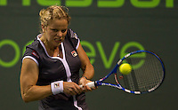 Kim CLIJSTERS (BEL) against Petra KVITOVA (CZE) in the second round of the women's singles. Clijsters beat Kvitova 6-1 6-1..International Tennis - 2010 ATP World Tour - Sony Ericsson Open - Crandon Park Tennis Center - Key Biscayne - Miami - Florida - USA - Fri 26 Mar 2010..© Frey - Amn Images, Level 1, Barry House, 20-22 Worple Road, London, SW19 4DH, UK .Tel - +44 20 8947 0100.Fax -+44 20 8947 0117