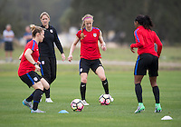 USWNT Training, February 25, 2017