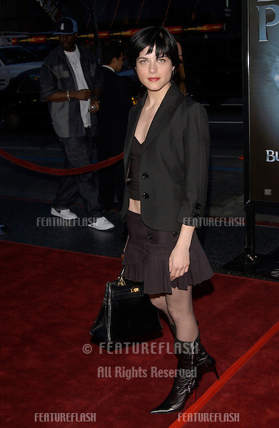 Actress SELMA BLAIR at the world premiere, in Hollywood, of Bulletproof Monk..April 9, 2003.