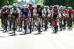 The peloton in action during Stage 2 of the 2018 Tour de France running 182.5km from Mouilleron-Saint-Germain to La Roche-sur-Yon, France. 8th July 2018. <br /> Picture: ASO/Alex Broadway | Cyclefile<br /> All photos usage must carry mandatory copyright credit (&copy; Cyclefile | ASO/Alex Broadway)