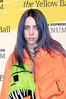 BROOKLYN, NY - SEPTEMBER 10: Billie Eilish at The Yellow Ball at The Brooklyn Museum in New York City on September 10, 2018. Credit: Diego Corredor/MediaPunch<br /> CAP/MPI99<br /> &copy;MPI99/Capital Pictures