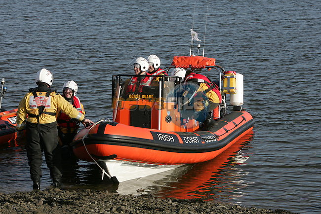 Drogheda Coast Guard Unit on Exercise.Picture Fran Caffrey/www.newsfile.ie.