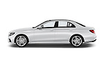 Car Driver side profile view of a 2016 Mercedes Benz E-Klasse Sportline 4 Door Sedan Side View