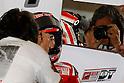 June 24, 2010 - Assen, Holland - Nicky Haden talks to his mechanics during the Dutch Grand Prix on June 24, 2010. (Photo Andrew Northcott/Nippon News)..