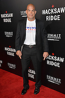 LOS ANGELES, CA. October 24, 2016: Tito Ortiz at the Los Angeles premiere of &quot;Hacksaw Ridge&quot; at The Academy's Samuel Goldwyn Theatre, Beverly Hills.<br /> Picture: Paul Smith/Featureflash/SilverHub 0208 004 5359/ 07711 972644 Editors@silverhubmedia.com