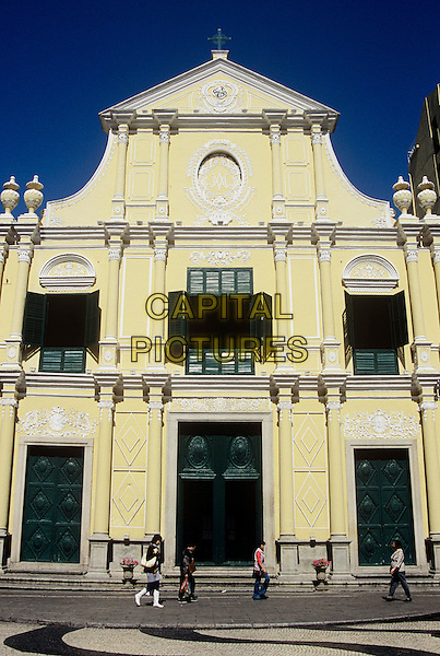 Saint Dominic's Church, Leal Senado Plaza, Macau, China