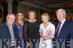 The Lee Strand social last Saturday night in the Ballygarry House hotel, was enjoyed by L-R Sean&Michelle Kerins, Kathleen McCarthy and Phil&Con Curren.