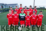 The Iveragh United side who defeated Killarney Athletic 1-0 in Cahersiveen on Saturday were front l-r; Tadhg O'Sullivan, Jamie Gleeson, David Murphy, Fintan O'Sullivan, Alex Kelly, Finn Barrett, back l-r; Evan O'Sullivan, Luke O'Sullivan, Darren O'Donoghue, David Kennedy, Luke Donnelly & Marcus Draper.