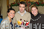Mel Barry, Daniel Cronin and Laura Sourke Killarney offering treats at the Christmas Craft fair in the Malton Hotel Killarney on Sunday..