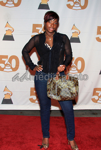 September 17, 2008 - Atlanta, Georgia - Recording artist Princess strikes a pose on the red carpet for the opening of the Atlantis Music Conference at Opera in downtown Atlanta.  Photo Credit: Dan Harr/AdMedia
