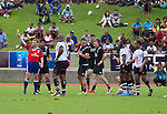 Maori All Blacks vs. Fiji. Suva. MAB's won 27-26. July 11, 2015. Photo: Marc Weakley