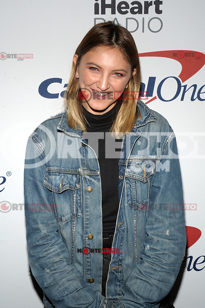 NEW YORK, NY - DECEMBER 8: Julia Michaels at Z100's Jingle Ball 2017 at Madison Square Garden in New York City, Credit: John Palmer/MediaPunch /nortephoto.com NORTEPHOTOMEXICO