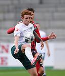 FussballFussball: agnph001:  1. Bundesliga Saison 2019/2020 27. Spieltag 23.05.2020<br />SC Freiburg - SV Werder Bremen<br />Josh Sargent (SV Werder Bremen) am Ball<br />FOTO: Markus Ulmer/Pressefoto Ulmer/ /Pool/gumzmedia/nordphoto<br /><br />Nur für journalistische Zwecke! Only for editorial use! <br />No commercial usage!