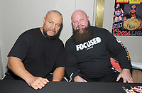 "NEW YORK, NY - NOVEMBER 4: The Barbarian and The Warlord from the ""Powers of Pain"" attends the Big Event NY at LaGuardia Plaza Hotel on November 4, 2017 in Queens, New York.  Credit: George Napolitano/MediaPunch /NortePhoto.com"