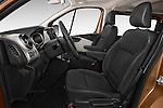 Front seat view of a 2015 Renault Trafic Luxe 5 Door Van front seat car photos
