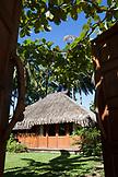 FRENCH POLYNESIA, Moorea. Te Nunoa Private Garden Bungalow.