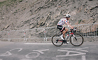 Polka Dot Jersey / KOM leader Warren Barguil (FRA/Sunweb) up the highest point in the 2017 TdF: The Galibier (HC/2642m/17.7km/6.9%)<br /> <br /> 104th Tour de France 2017<br /> Stage 17 - La Mure › Serre-Chevalier (183km)