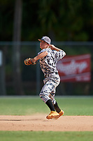 Colby Wilkerson during the WWBA World Championship at the Roger Dean Complex on October 20, 2018 in Jupiter, Florida.  Colby Wilkerson is a shortstop from Oxford, North Carolina who attends Kerr-Vance Academy and is committed to North Carolina.  (Mike Janes/Four Seam Images)