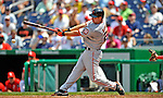 8 June 2008: San Francisco Giants' first baseman John Bowker at bat against the Washington Nationals at Nationals Park in Washington, DC. The Giants rallied to defeat the Nationals 6-3 in their third consecutive win of the 4-game series...Mandatory Photo Credit: Ed Wolfstein Photo