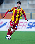 Södertälje 2013-03-31 Fotboll Allsvenskan , Syrianska FC - Kalmar FF :  .Syrianska 7 Robert Massi i aktion .( Foto: Kenta Jönsson ) Nyckelord:  porträtt portrait