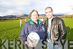 "BAINISTEOIR: John McGuire, Celebrity Bainisteoir (of RTE 2 series ""I'm an adult, Get me out of here"") gets a helping hand from John V. O'Sullivan at Sneem GAA pitch on Friday.   Copyright Kerry's Eye 2008"