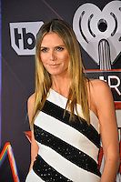 Heidi Klum at the 2017 iHeartRadio Music Awards at The Forum, Los Angeles, USA 05 March  2017<br /> Picture: Paul Smith/Featureflash/SilverHub 0208 004 5359 sales@silverhubmedia.com