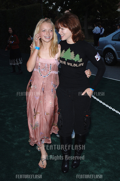 Actress FRANCIS FISHER & daughter FRANCESCA FISHER-EASTWOOD (her daughter with Clint Eastwood) at the 15th Annual Environmental Media Awards in Los Angeles..October 19, 2005 Los Angeles, CA..© 2005 Paul Smith / Featureflash