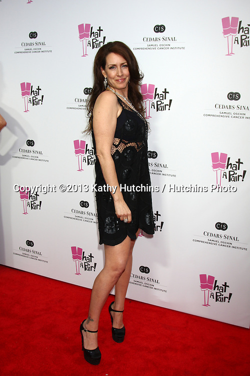 "LOS ANGELES - APR 13:  Joely Fisher arrives at the ""What A Pair!"" Benefit Concert  at the The Broad Stage  on April 13, 2013 in Santa Monica, CA"