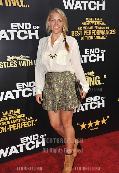 """Busy Phillips at the premiere of """"End of Watch"""" at the Regal Cinemas LA Live..September 17, 2012  Los Angeles, CA.Picture: Paul Smith / Featureflash"""