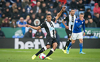 Isaac Hayden of Newcastle United during the Premier League match between Leicester City and Newcastle United at the King Power Stadium, Leicester, England on 29 September 2019. Photo by Andy Rowland.