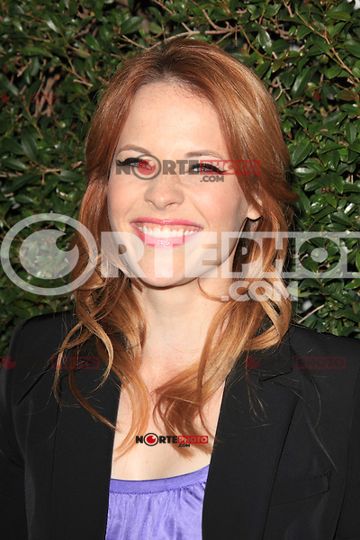 Katie Leclerc at the ABC Family West Coast Upfronts party at The Sayers Club on May 1, 2012 in Hollywood, California. © mpi26/MediaPunch Inc.