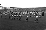 Kerry footballer John Egan leads Kerry in their attempt for a record five titles in-a-row in 1982, but they were beaten in the final by Offaly. Egan also won four National Football League titles, five All Star awards and nine Munster Championships.<br /> Picture by Don MacMonagle - macmonagle.com