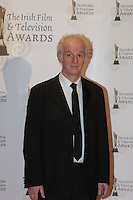 12/2/11 Sean McGinlay on the red carpet at the 8th Irish Film and Television Awards at the Convention centre in Dublin. Picture:Arthur Carron/Collins