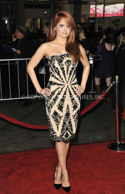 WWW.ACEPIXS.COM....February 5 2013, LA....Debby Ryan arriving at the 'Safe Haven' - Los Angeles Premiere at TCL Chinese Theatre on February 5, 2013 in Hollywood, California.....By Line: Peter West/ACE Pictures......ACE Pictures, Inc...tel: 646 769 0430..Email: info@acepixs.com..www.acepixs.com