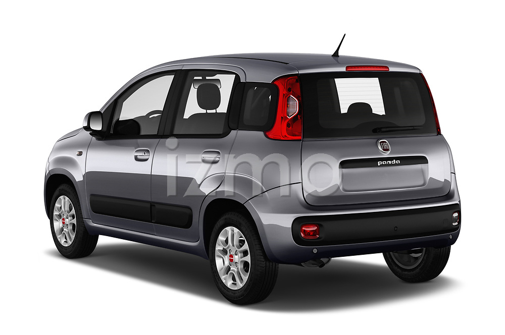 Car pictures of rear three quarter view of 2017 Fiat Panda Lounge 5 Door Hatchback Angular Rear