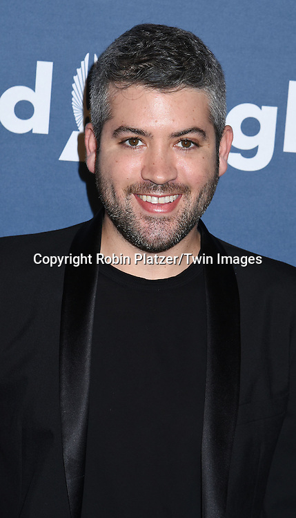 Brandon Maxwell  attends the 27th Annual GLAAD Media Awards on May 14, 2016 at the Waldorf Astoria Hotel in New York City, New York, USA.<br /> <br /> photo by Robin Platzer/Twin Images<br />  <br /> phone number 212-935-0770