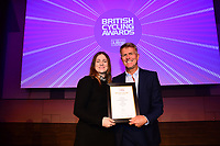 Picture by Simon Wilkinson/SWpix.com - 10/02/2018 - British Cycling Awards 2018 presentation and dinner - The Vox Conference Centre, Birmingham - Bethany Shriever