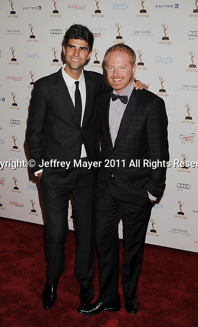 WEST HOLLYWOOD, CA - SEPTEMBER 16: Jesse Tyler Ferguson attends the 63rd Annual Emmy Awards Performers Nominee Reception held at the Pacific Design Center on September 16, 2011 in West Hollywood, California.