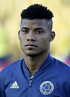 BOGOTA - COLOMBIA, 03-06-2019: Wilmar Barrios jugador de Colombia previo al partido amistoso entre Colombia y Panamá jugado en el estadio El Campín en Bogotá, Colombia. / Wilmar Barrios player of Colombia prior a friendly match between Colombia and Panama played at Estadio El Campin in Bogota, Colombia. Photo: VizzorImage/ Gabriel Aponte / Staff